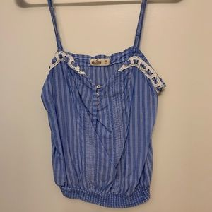 Striped Hollister top